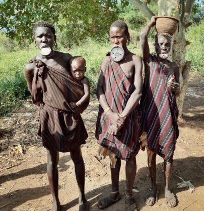 Дикие племена Эфиопии